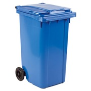 Coloured containers 2 wheels 240 liters blue