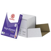 Box of paper Bruneau Reprospeed Extra A4 80 g - 2500 sheets - white