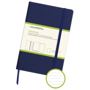 Notebook 140 x 215 mm lined 192 pages blue