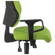 Pair of adjustable armrests for chair Dhark