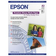 Box 20 sheets photo paper Epson A3 225g shiny