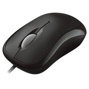 Microsoft Basic Optical Mouse for Business - mouse - PS/2, USB - black