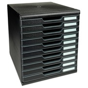 MODULO A4 10 drawers - Black