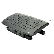 Footrest with adjustable temperature