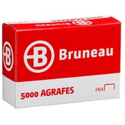 Staples Bruneau 24/6 galvanized - box of 5000
