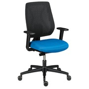 Chair Ceed-O back in net structure - blue