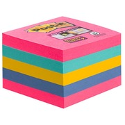 Repositionable notes Super Sticky Post-it assortment 76 x 76 cm block of 440 sheets