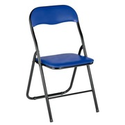 Foldable chair blue
