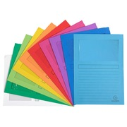 Forever Window Folders 120gsm 22x31cm Assorted Pack 10