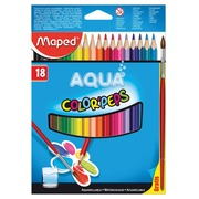 EN_CRAYONS AQUARELLABLES BTE 18