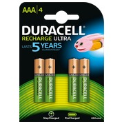 Blister 4 batterijen Stay charged AAA