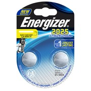 Lithium button cell Ultimate CR 2032 Energizer - blister of 2 batteries