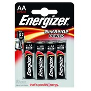 Blister of 6 batteries LR06 Energizer Power