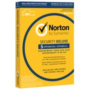 Norton Security Deluxe 2019 - 5 Devices - 1 Year - Antivirus included - PC/Mac/iOS/Android