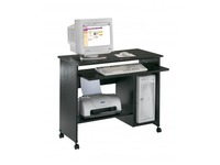 Start Plus, mobile computer desk, black