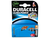 Blister of 8 batteries AAA Duracell Ultra Power