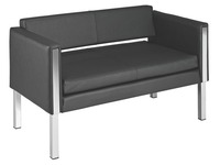 Sofa Cubb leather 2 persons
