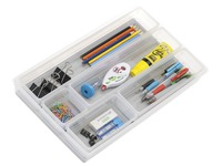Organizer for drawer 6 compartments Cep translucent
