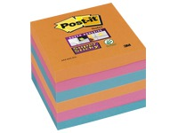 Notes bruisende kleuren Super Sticky Post-it 76 x 76 mm