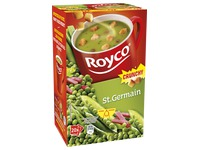 Box of 20 bags Royco Minute Soup pea/ham with crusts