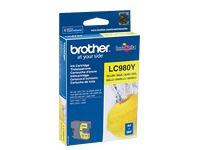 LC980Y BROTHER DCP145C TINTE YELLOW