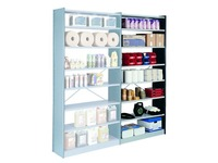 Shelving, height 250 cm